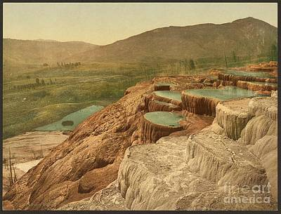 Fathers Day 1 - Pulpit Terraces Yellowstone  by Pd