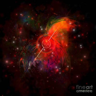 Pulsar Art Print by Corey Ford