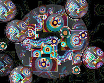 Digital Art - Pulse Of The Motherboard by Lynda Lehmann