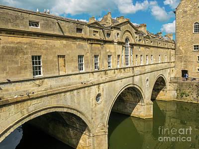 Photograph - Pulteney Bridge, Bath, England by Jim Orr