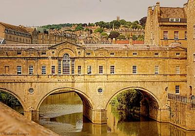 Photograph - Pulteney Bridge, Bath by Wallaroo Images