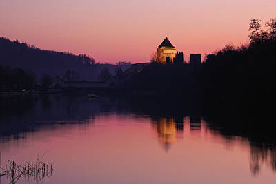 Photograph - Pulverturm Twilight by Alexander Kunz