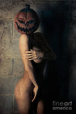Pumkin Head 2 Art Print by Jt PhotoDesign