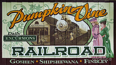 Photograph - Pumkinvine Railroad by David Arment