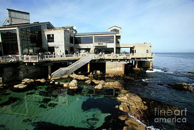 Photograph - Pump House At The Monterey Bay Aquarium Feb. 2009 by California Views Archives Mr Pat Hathaway Archives