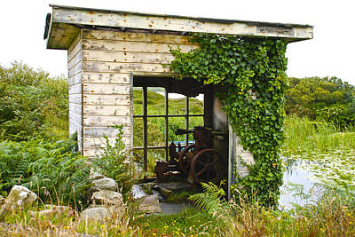 Photograph - Pump House by Charlie and Norma Brock