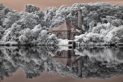 Photograph - Pump Station by Fred Moore
