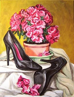 Pumped Azalea Art Print by Laura Aceto