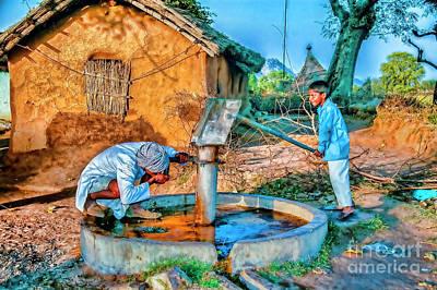 Photograph - Pumping Water by Rick Bragan