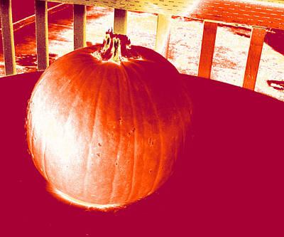 Photograph - Pumpkin #1 by Anne Westlund