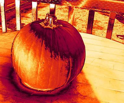 Photograph - Pumpkin #3 by Anne Westlund