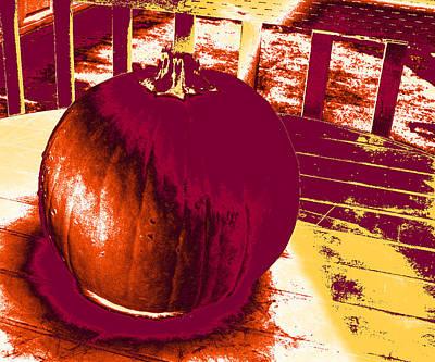 Photograph - Pumpkin #5 by Anne Westlund