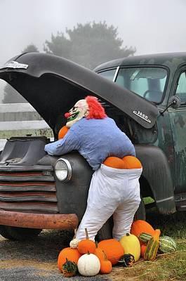 Pumpkin Butt Art Print by Todd Hostetter