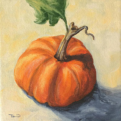 Painting - Pumpkin Everything by Torrie Smiley