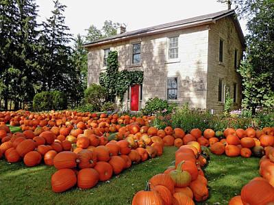 Basketball Patents - Pumpkin Fest by Debbie Oppermann