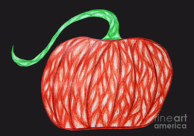 Pumpkin Art Print by Jamie Lynn