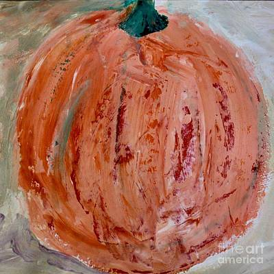 Painting - Pumpkin by Kim Nelson