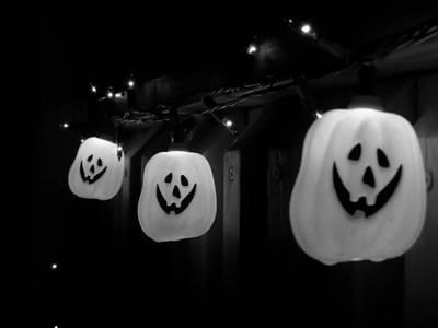 Photograph - Pumpkin Lights by Kyle West