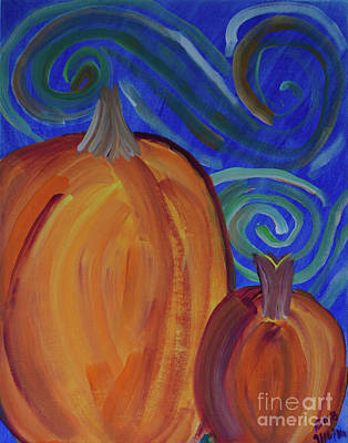Painting - Pumpkin Magic  by Donna Brown