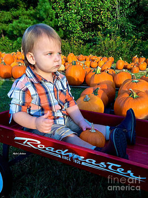 Photograph - Pumpkin Patch Hay Ride by Rafael Salazar
