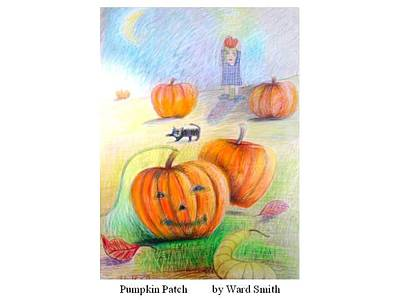 Pumpkin Patch Art Print by Ward Smith