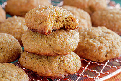 Photograph - Pumpkin Spice Cookies by Teri Virbickis