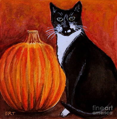 Painting - Pumpkin Spice by Elizabeth Robinette Tyndall