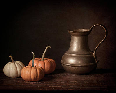 Tankard Digital Art - Pumpkin Spice by Jerri Moon Cantone