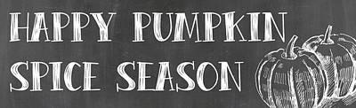 Pumpkin Spice Season Art Print