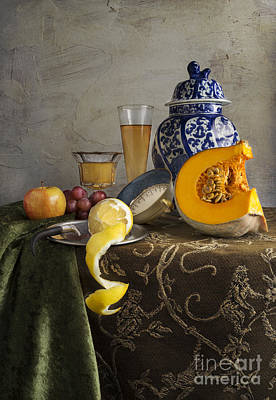 Photograph - Pumpkin Still Life by Elena Nosyreva