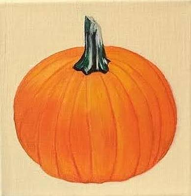 Painting - Pumpkin by Therese Legere
