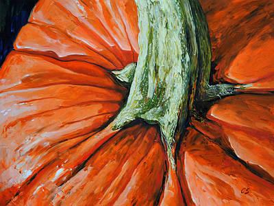 Pumpkin3 Art Print