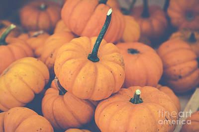 Photograph - Pile O' Pumpkins by Eleanor Abramson