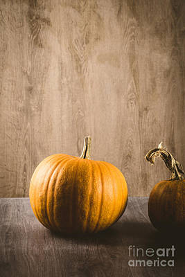Banquet Photograph - Pumpkins by Mythja  Photography