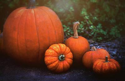 Photograph - Pumpkins  by Saija Lehtonen