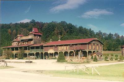 Photograph - Pumpkinville Mountain Opry Pickens County Sc by Bryan Bustard