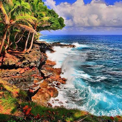 Personalized Name License Plates - Puna Coast Hawaii by DJ Florek