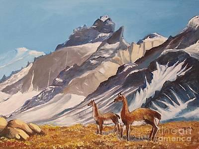 Painting - Puna De Atacama by Jean Pierre Bergoeing