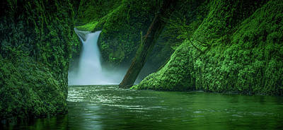 Photograph - Punchbowl Falls by Don Schwartz