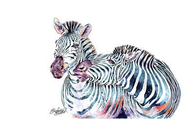 Painting - Punda Milia Zebra by Stephie Butler