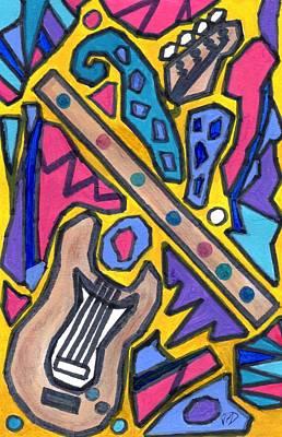 Punk Concept Painting 4 Art Print