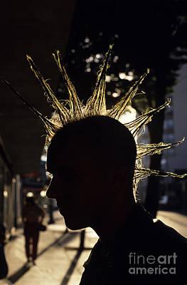 Photograph - Punk Rocker by Jim Corwin
