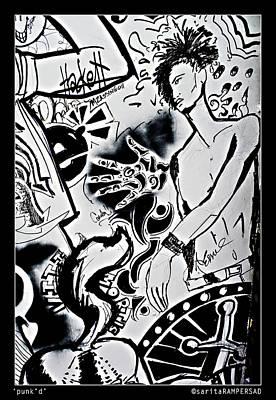 Photograph - Punk'd by Sarita Rampersad