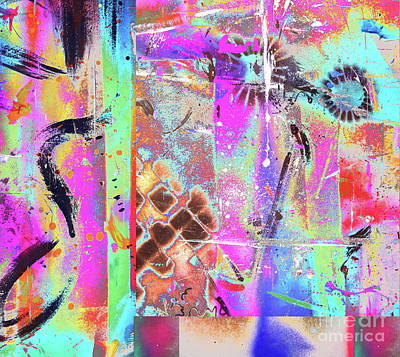 Painting - Punkish by Expressionistart studio Priscilla Batzell
