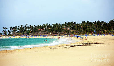 Photograph - Punta Cana Beach by John Rizzuto