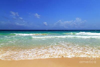 Photograph - Punta Cana Caribbean Ocean by John Rizzuto