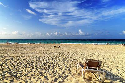 Photograph - Punta Cana Lounge View by John Rizzuto