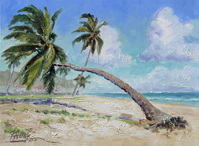 Painting - Punta Cana - Sea Beach 13 by Irek Szelag