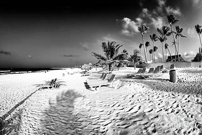 Photograph - Punta Cana White Beach by John Rizzuto