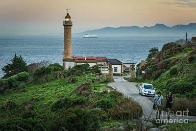 Photograph - Punta Carnero Lighthouse Algeciras Spain by Pablo Avanzini